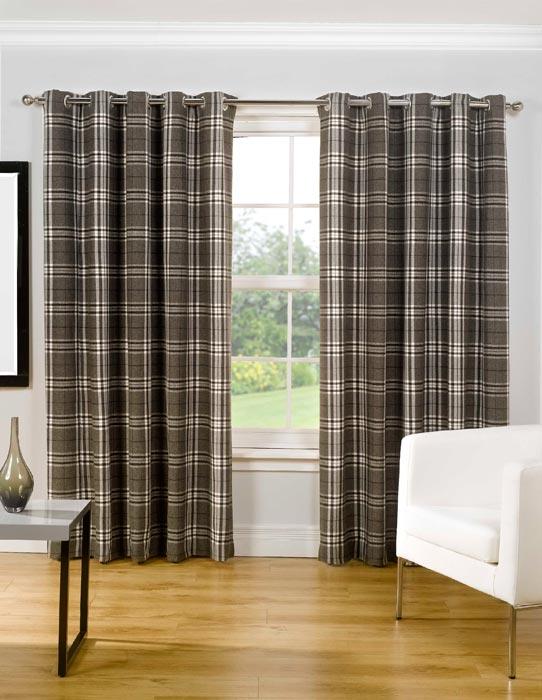 curtains tartan