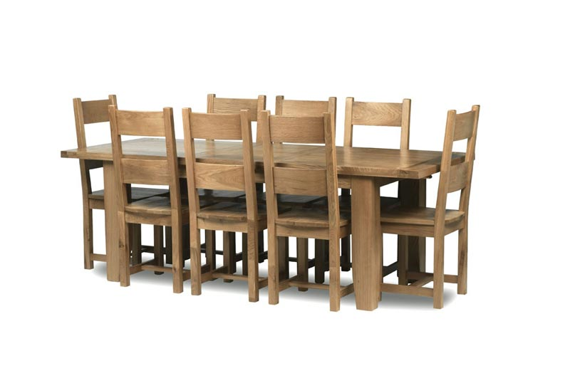 dining table 8 chairs dimensions