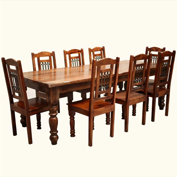 dining table 8 chairs set