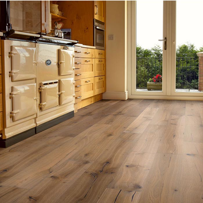distressed engineered oak wood flooring