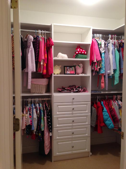 do it yourself walk in closet designs