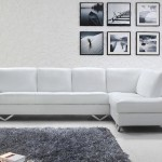 : elgin white modern italian leather sectional sofa