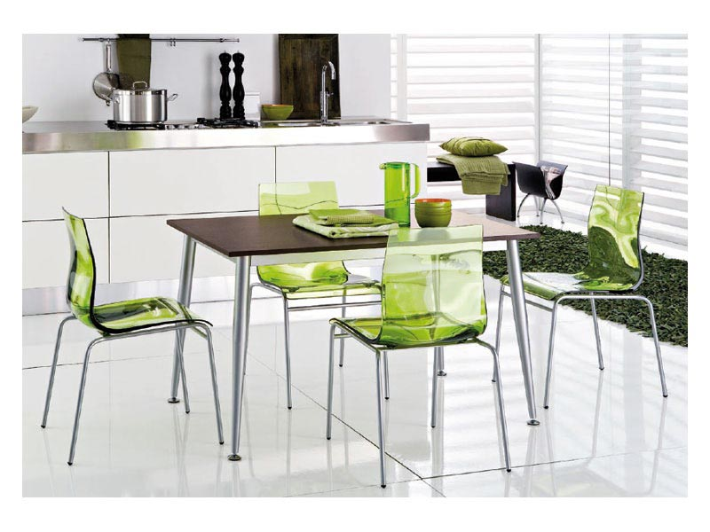 green gel dining chairs