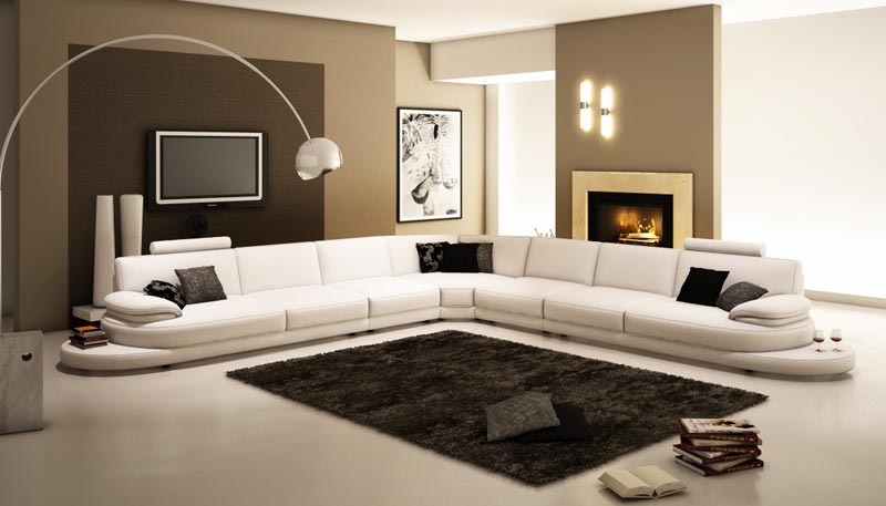 italian leather sofa modern