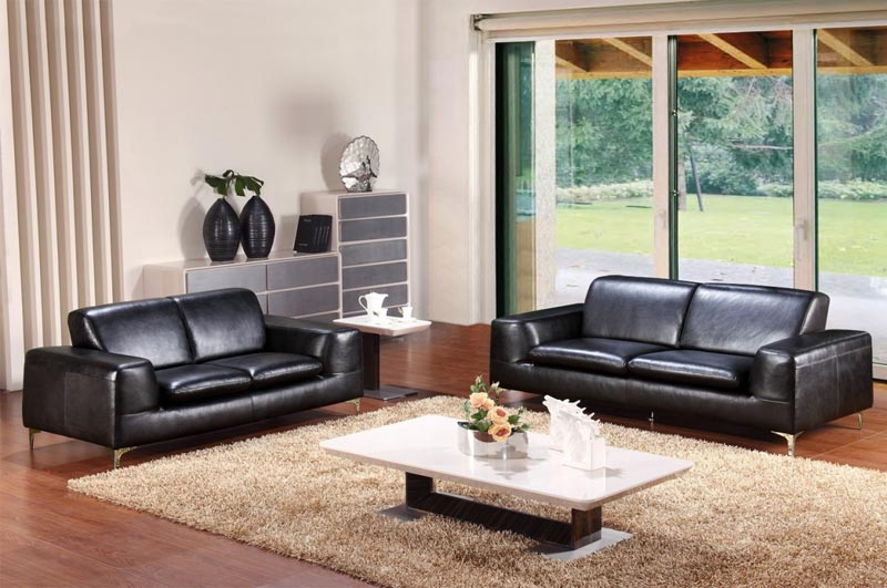 italian leather sofa set modern