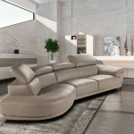 : modern italian design franco leather sectional sofa
