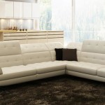 : modern italian leather sectional sofa