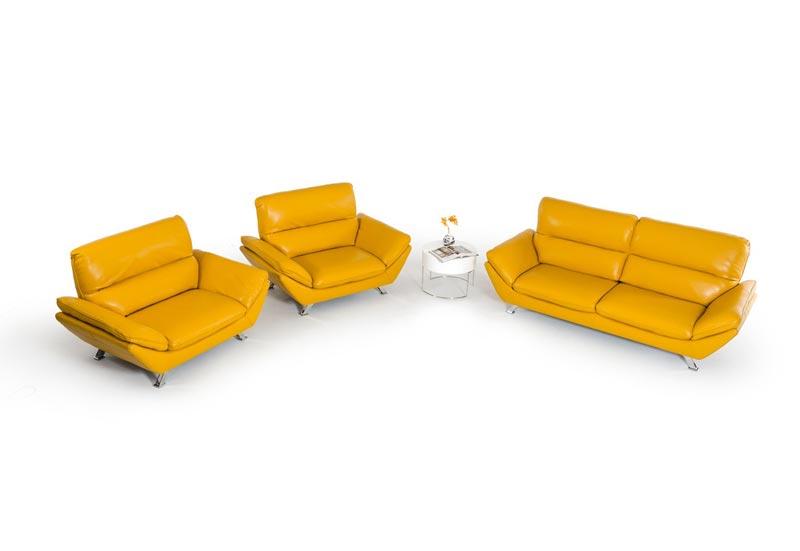 Modern Italian Leather Sofa Sets