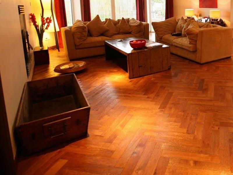parquet wood floor