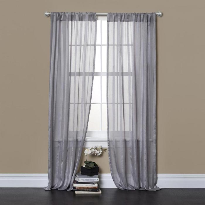 sheer curtains longer than 84 inches