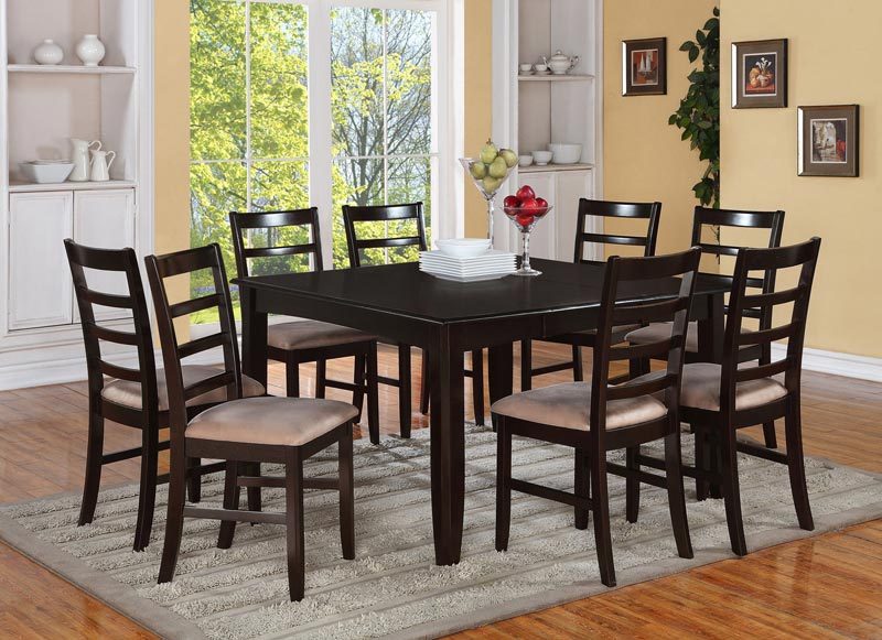 square dining table 8 chairs