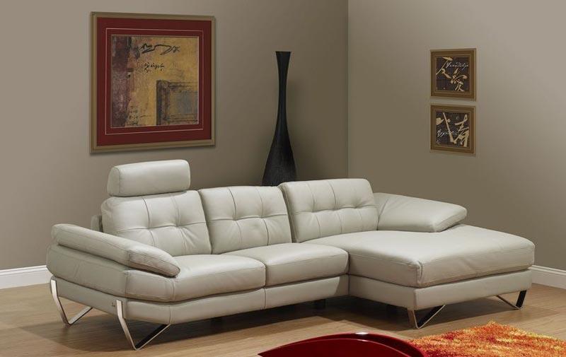 Tonga Modern Italian Full Leather Sofa Set