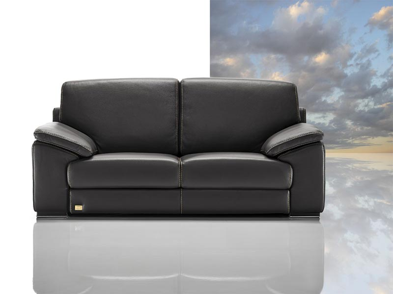 Tonga Modern Italian Full Leather Sofa Set