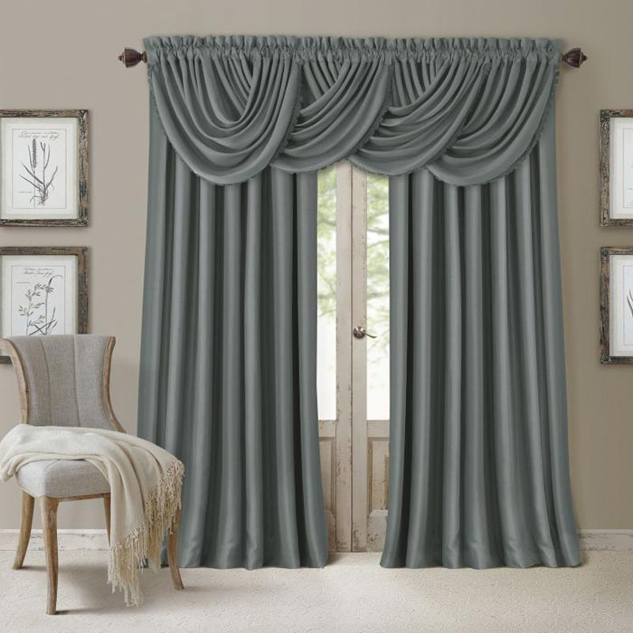 36 inch length window curtains