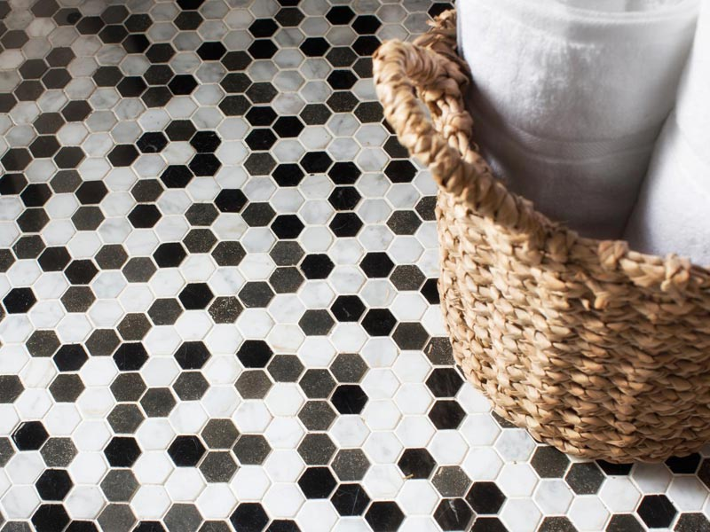 best non slip bathroom flooring