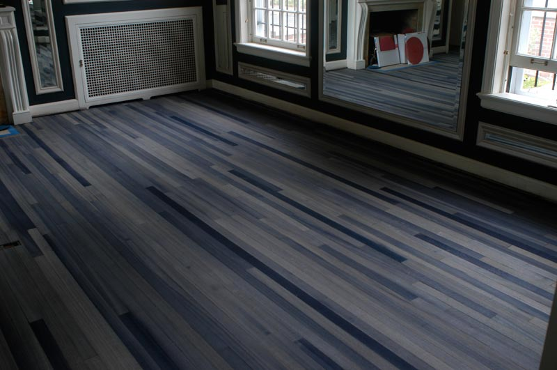 blue wood effect vinyl flooring