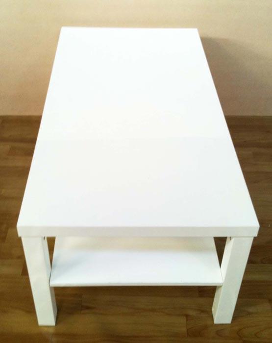 cheap–white coffee table