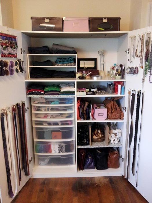 closet storage system ideas