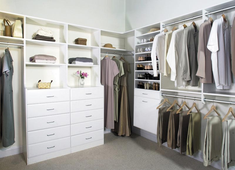 closet system design ideas