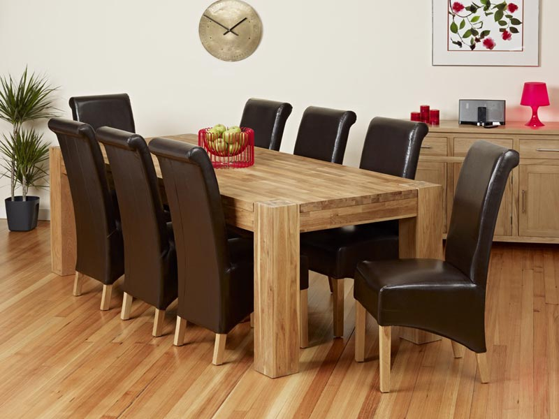 dining table and 8 chairs uk