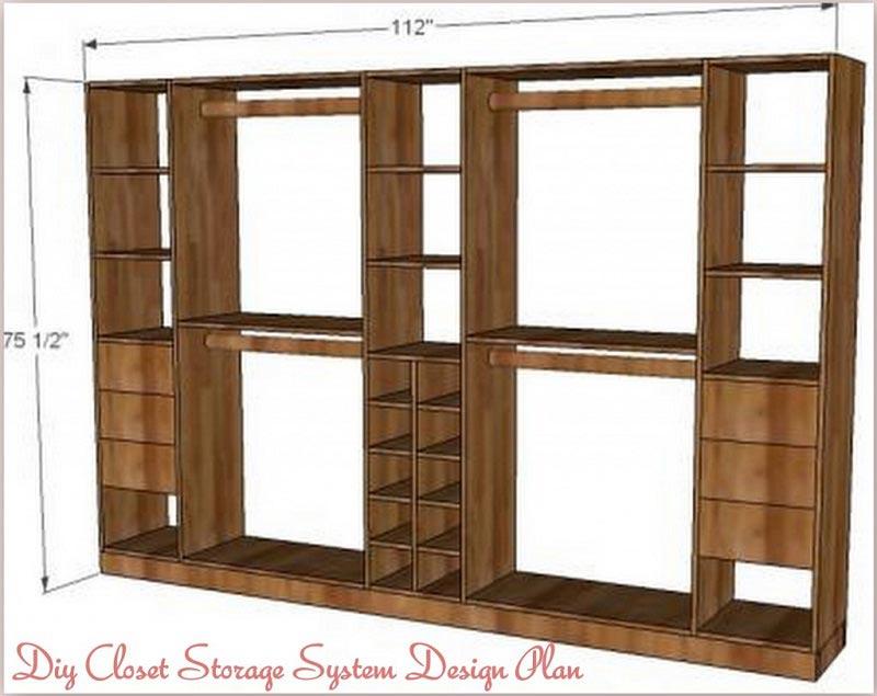 diy closet system ideas