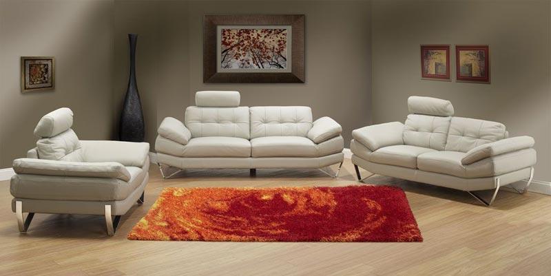 enzo genuine italian leather sofa sets