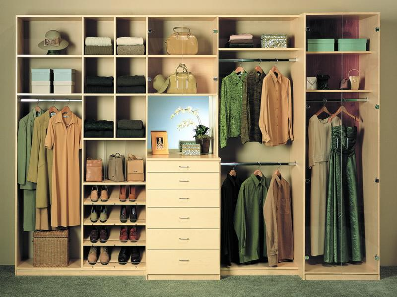 how to build a closet organizer from wood