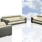 : italian leather sofa set modern