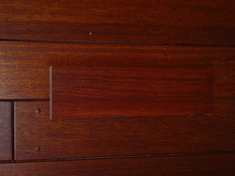 mahogany flooring durability