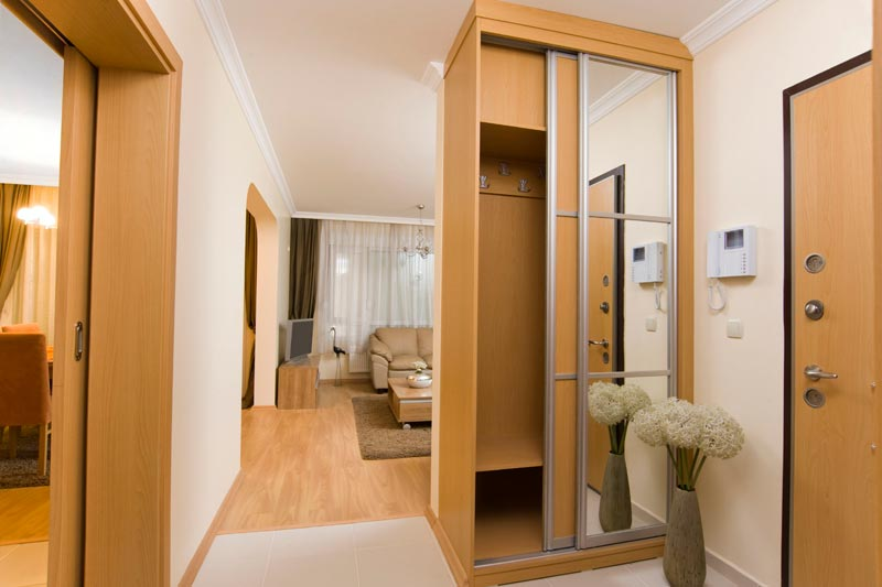 narrow wardrobes for small bedrooms