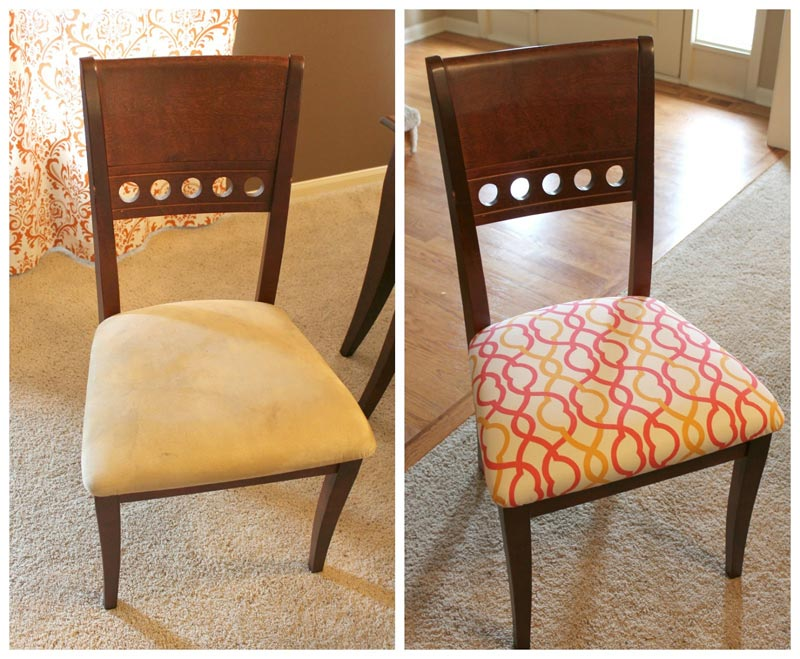 reupholster dining chairs fabric