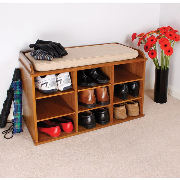 shoe storage benches uk