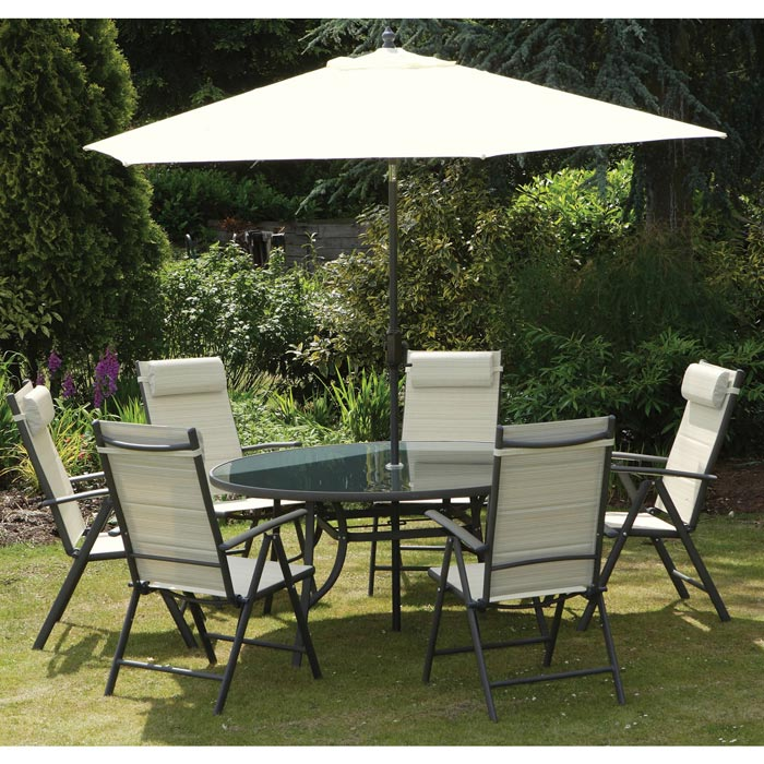 welbeck 6 seater garden furniture