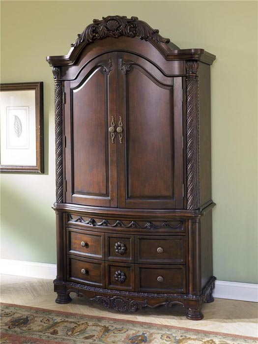: bedroom armoire ashley furniture