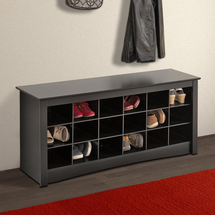 bench seating with shoe storage