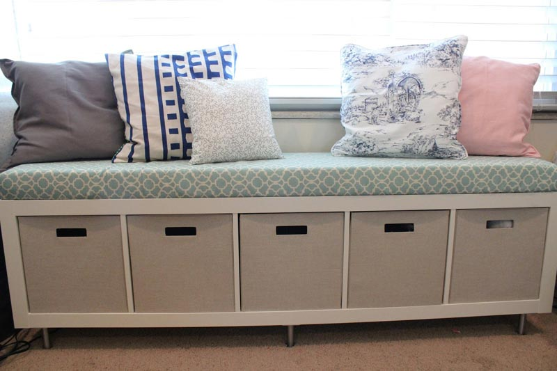 bench seating with storage ikea