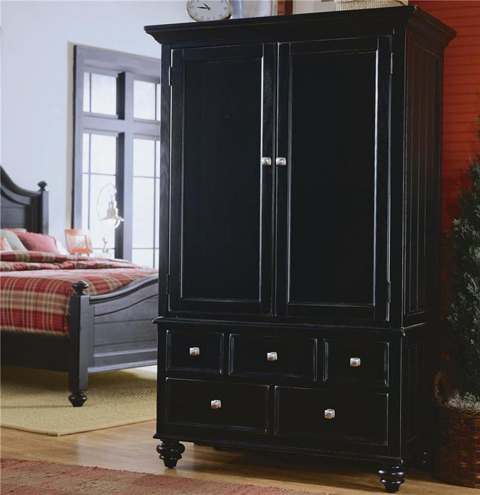 : black armoire bedroom furniture