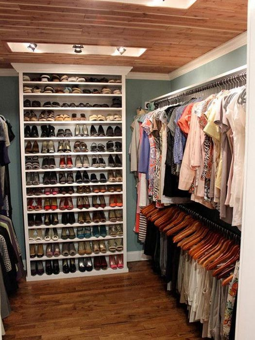 clever ideas for closet organization