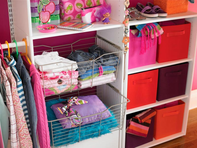 creative ideas for closet organization