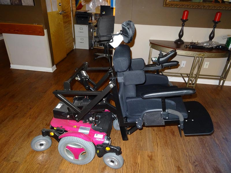hard wearing flooring for electric wheelchair