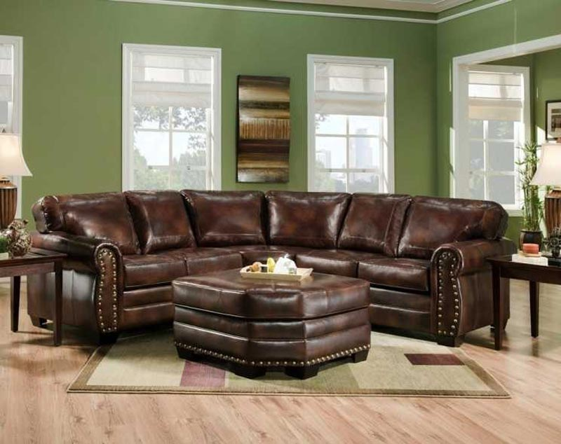 : salem rustic brown italian leather sofa