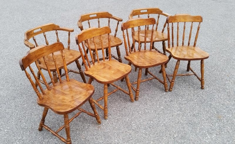 used wooden dining chairs for sale