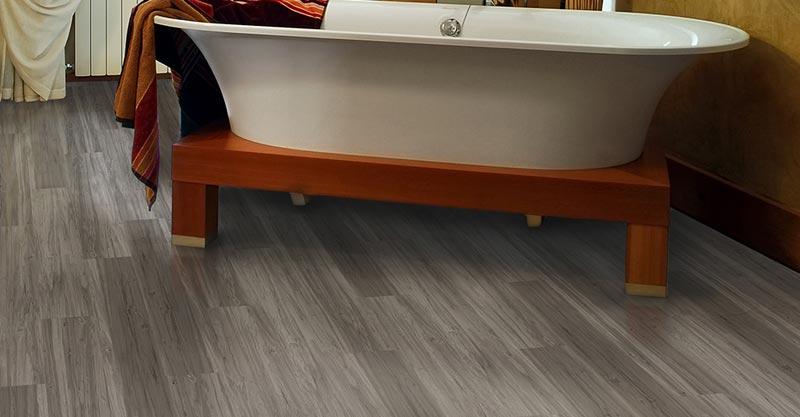 vinyl floor planks bathroom