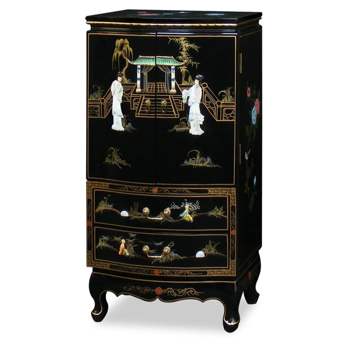: bedroom furniture jewelry armoire