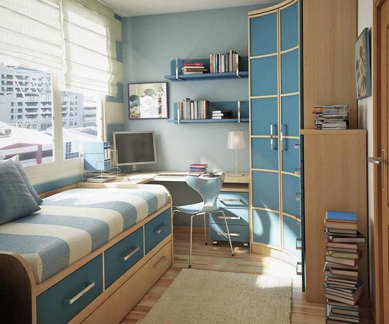 bedroom storage design