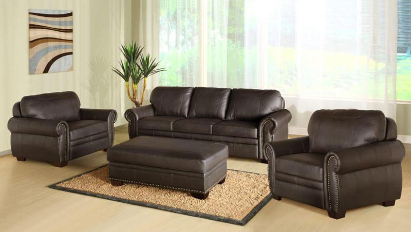 : buy leather sofa set online india