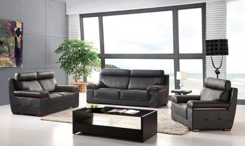 : cheap leather sofa sets living room