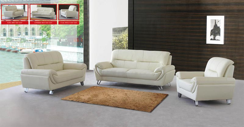 : cheap leather sofas sets