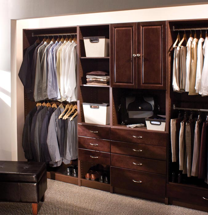 custom build closet organizers