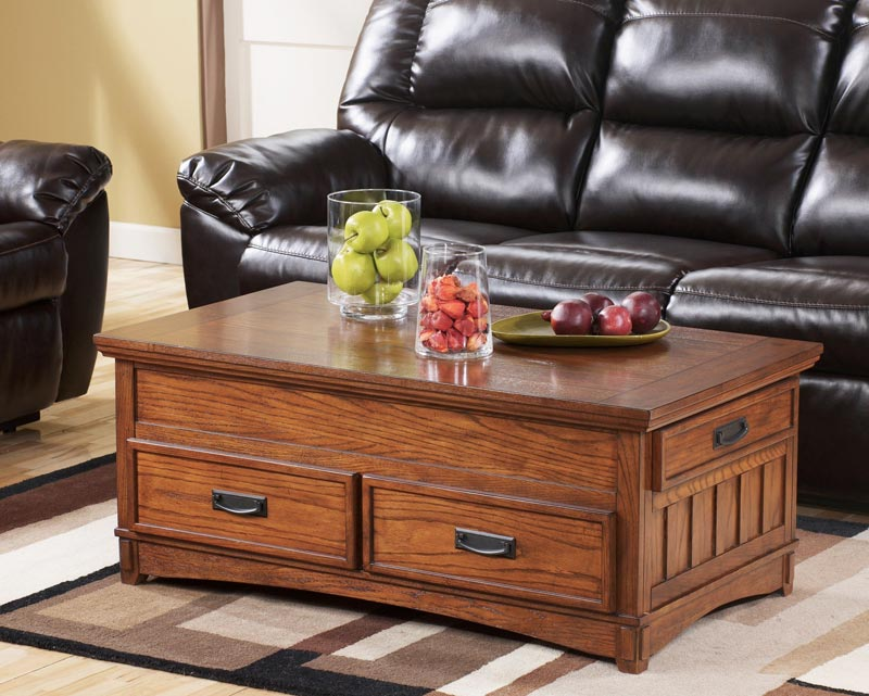 large storage trunk coffee table